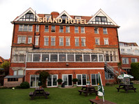Grand Hotel in Swanage, England