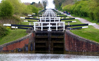 Caen Hill Locks, Wiltshire