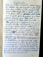 My grandfather's early book draft