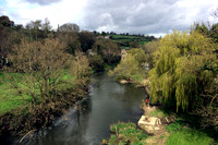 View of the River Avon from the aqueduct