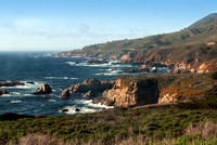 View from Highway 1, Big Sur