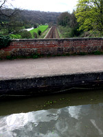 Kennet and Avon Canal spans the river & rail tracks