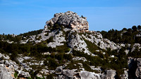 View from Les Baux